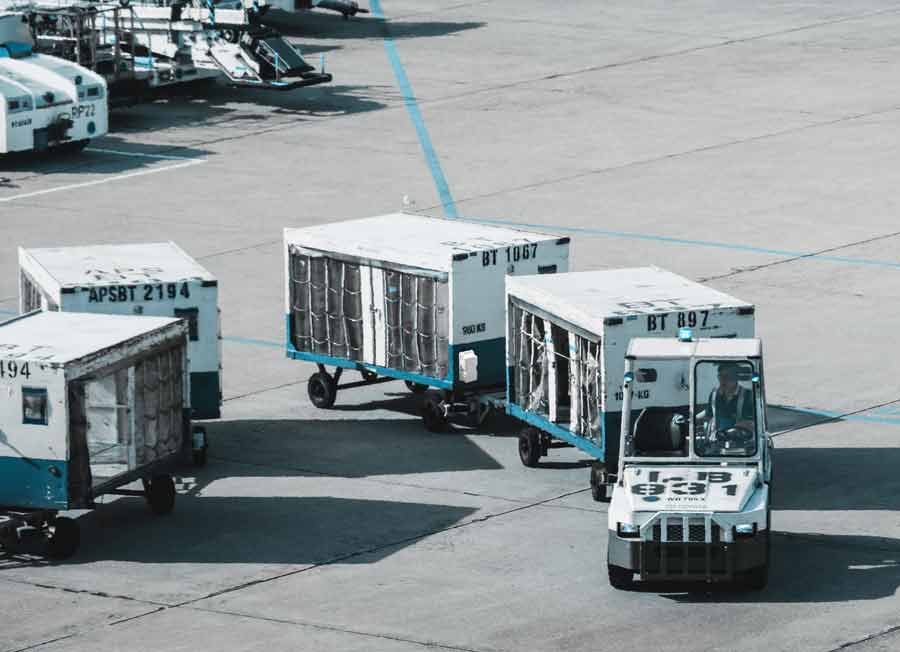 Asset management and tracking for airports, ports, & harbors